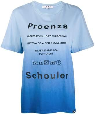 Proenza Schouler tie dye Dry Clean T-shirt