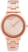 Michael Kors Jaryn Heart Watch