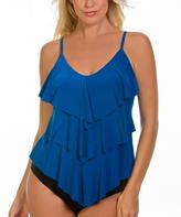 Magicsuit Ocean Blue Rita DD-Cup Tankini Top