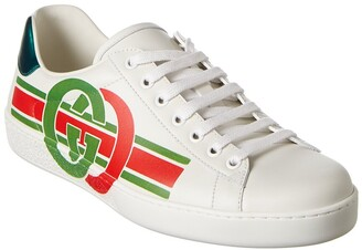 Gucci Ace Interlocking G Leather Sneaker