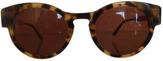 Thierry Lasry Camel Plastic Sunglasses