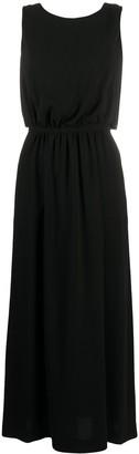 Aspesi cross-over back strap dress