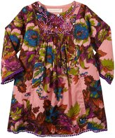 Cupcakes & Pastries Boho Dress (Toddler/Kid) - Light Purple-10