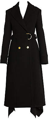 Stella McCartney Women's Wool Felt Trench Coat
