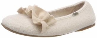 Living Kitzbühel Women's Ballerina mit Rusche Low-Top Slippers
