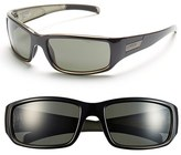 Smith Optics Women's 'Prospect' 61Mm Polarized Sunglasses - Black/ Polar Gray Green
