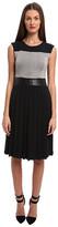 CNC Costume National Sleeveless Dress w/ Pleat Skirt