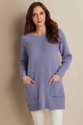 Women Cozy Chenille Pullover
