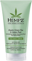 Hempz Exotic Green Tea & Asian Pear Herbal Body Mask & Cleanser - 6.76 oz.