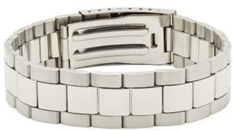 Maison Margiela Numbers-engraved Watch-link Bracelet - Mens - Silver