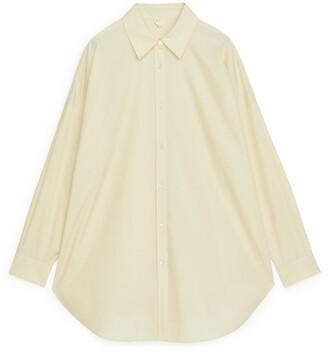 Arket Oversized Poplin Shirt
