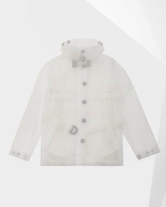Hunter Women's Refined Vinyl Part-Pleat Waterproof Jacket