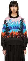 MSGM Pink Landscape Sweater