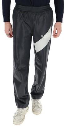 Helmut Lang Colour Block Logo Track Pants