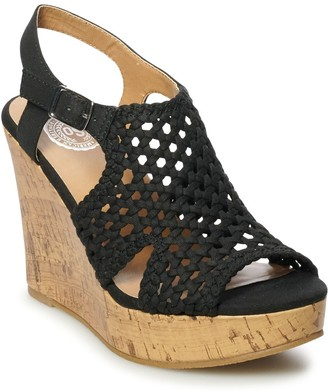 So Taffy Women's Wedge Sandals