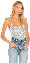 Equipment Perrin Floral Cami in White. - size L (also in S,XS)