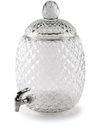 Circle Glass Aberdeen Pineapple Shaped Dispenser 2.1 Gallon
