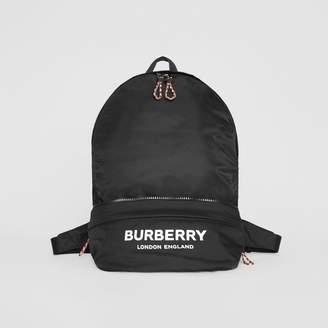 Burberry Logo Print Convertible Bum Bag