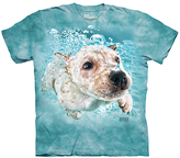 The Mountain Teal Puppy Tee - Toddler & Kids