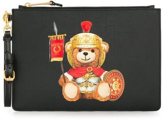 Moschino Roman Teddy Bear clutch bag
