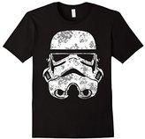 Star Wars Stormtrooper Helmet Flowers Floral Fill T-Shirt