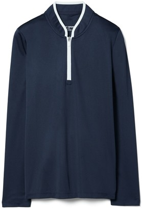 Tory Burch Performance Half-Zip Pullover