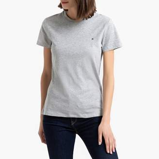 Tommy Hilfiger Organic Cotton Short-Sleeved T-shirt with Crew-Neck