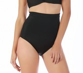 QVC InstantFigure Open Bust Mid-Thigh Bodysuit Compression Shapewear NUDE L