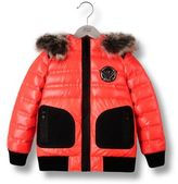 Armani Junior Down Jacket In Nylon With Heat Sealed Taping