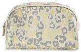 Nordstrom Bamko 'Cheetah' Canvas Cosmetics Bag