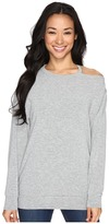 Culture Phit Tatum Open Shoulder Long Sleeve Top Women's Clothing