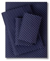 Nobrand No Brand Grand Dot Sheet Set - Navy (Twin)
