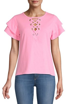 Generation Love Kiki Lace-Up Tee