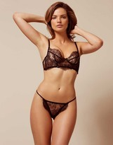 Agent Provocateur Adara Thong Black