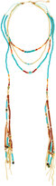 Nakamol Long Beaded Layered Necklace, Blue
