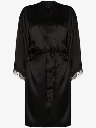 Sainted Sisters Lace-Trimmed Robe