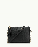 GiGi New York Hailey Crossbody Embossed Python