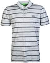 HUGO BOSS BOSS Green Mens Short Sleeve Polo PADDY 1 50320918 Size L Grey