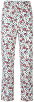 Isabel Marant printed Roya trousers - women - Silk - 34