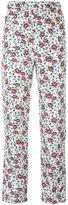 Isabel Marant printed Roya trousers - women - Silk - 34
