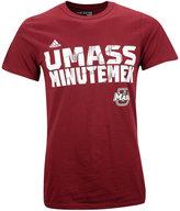adidas Men's Short-Sleeve Massachusetts Minutemen T-Shirt