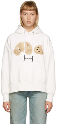Palm Angels Off-White Bear Hoodie
