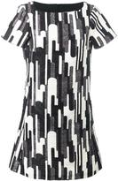 Blugirl boat neck shortsleeved dress