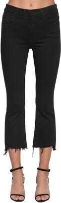 Mother Insider Cropped Denim Jeans