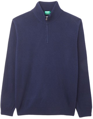 Benetton Wool and Cashmere High Neck Jumper