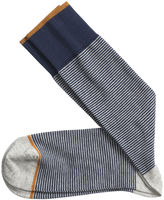 Johnston & Murphy Mini Stripe Socks