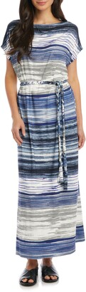 Karen Kane Grecian Stripe Maxi Dress