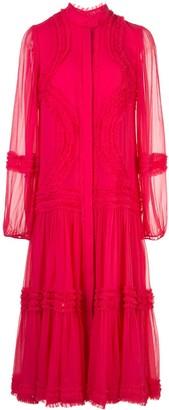 Alexis Patrizia silk midi dress