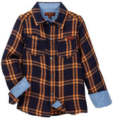 7 For All Mankind Woven Shirt (Little Boys)
