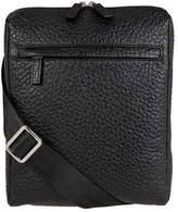 Lodis Men's Borrego RFID James Small Messenger - Black Zipper